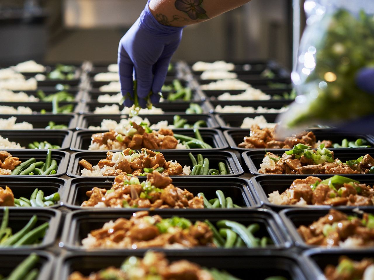 East Bay Meal Prep preparing food